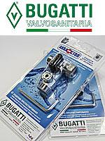 кран трехпроходной с защитным устройством Аквастоп Bugatti UDI, упаковка в блистер